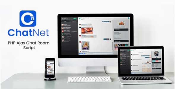 ChatNet v1.1 – PHP Ajax Chat Room & Private Chat Script – nulled